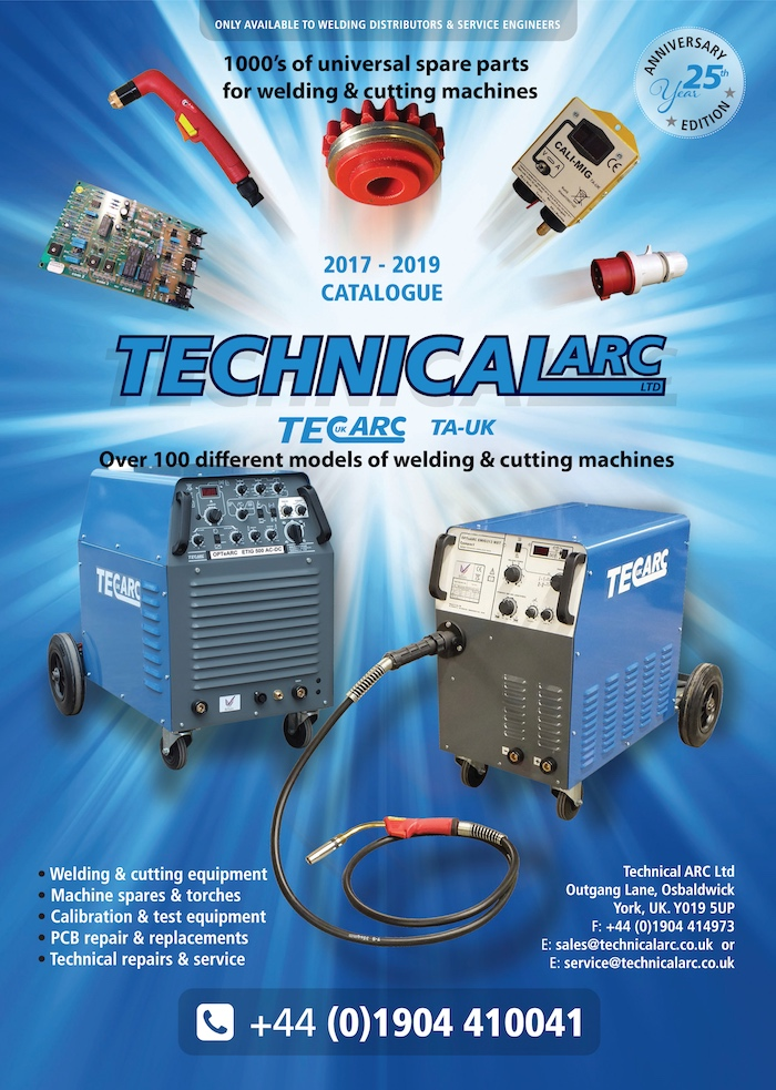 Technical Arc The Uk S Leading Manufacturer Of Welding Cutting Equipment